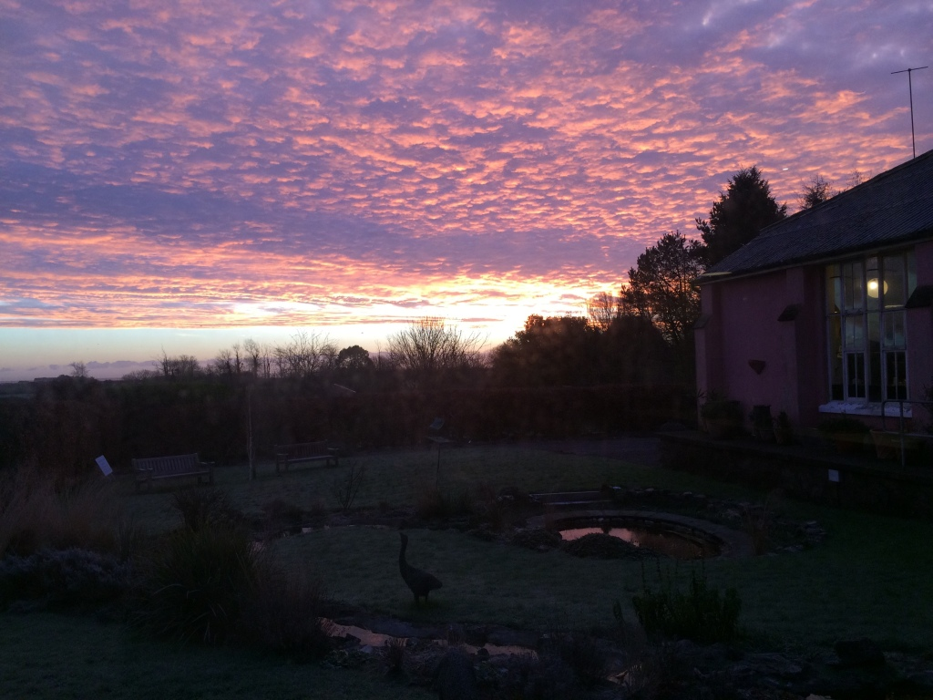Sunrise at Ballymaloe
