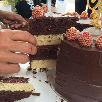 wedding cake inside