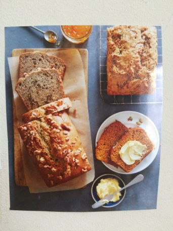 WS Books banana bread
