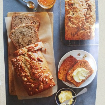 WS Books banana bread