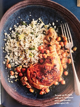 WS books chicken couscous
