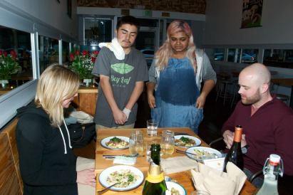 junior chefs' dinner